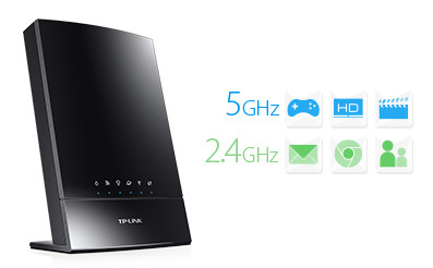 TP-Link Archer C20i 733Mbps Dual Band Connections