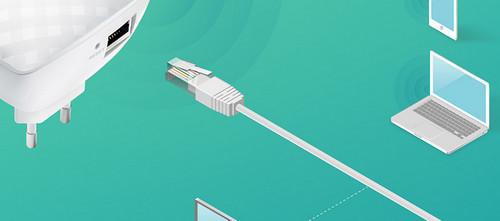 TP-Link RE200 Adapter untuk Hiburan
