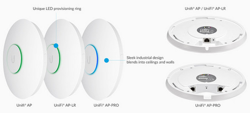 Ubiquiti Unifi Sleek Industrial Design