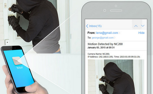 TP-Link NC200 Motion Detection