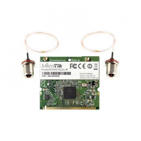 MikroTik R52n + Pigtail MMCX 01
