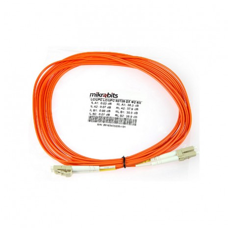 Mikrobits Patch Cable Multimode LC-LC Duplex 5M 01