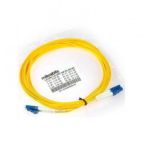 Mikrobits Patch Cable Singlemode LC-LC Duplex 5M 01