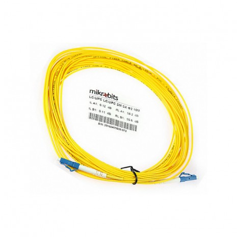 Mikrobits Patch Cable Singlemode LC-LC Simplex 10M 02