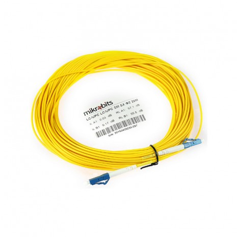 Mikrobits Patch Cable Singlemode LC-LC Simplex 20M 01