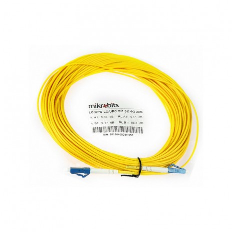 Mikrobits Patch Cable Singlemode LC-LC Simplex 20M 02