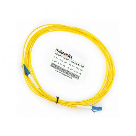Mikrobits Patch Cable Singlemode LC-LC Simplex 5M 02
