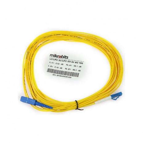 Mikrobits Patch Cable Singlemode LC-SC Simplex 10M 01