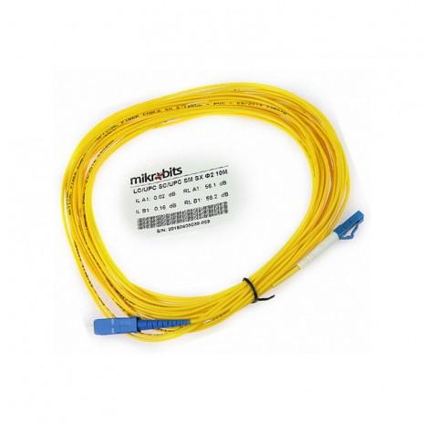 Mikrobits Patch Cable Singlemode LC-SC Simplex 10M 02