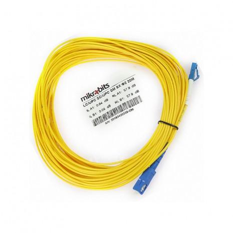 Mikrobits Patch Cable Singlemode LC-SC Simplex 20M 02