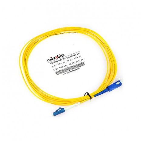 Mikrobits Patch Cable Singlemode LC-SC Simplex 5M 01