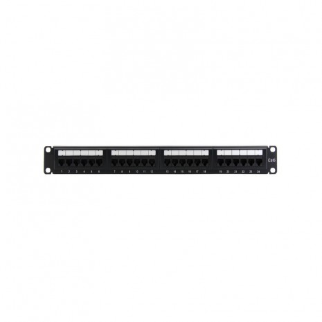 AMP Patch Panel Cat6 24 Port 01