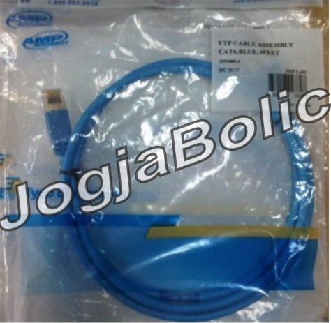 AMP Patch Cord Cat 6 4feet 02