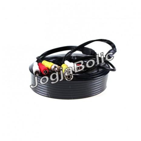 Kabel DC+BNC+RCA 20m 01