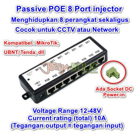 POE Injector 8-Port 01