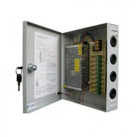 Adaptor Sentral Power Suply 12V 10A Box Panel 01