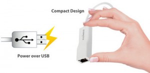 Edimax EU-4208 Compact Design & Power over USBT