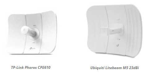 Hasil Tes Ubiquiti Airgrid M5 23dBi vs Ubiquiti Litebeam M5 23dBi vs