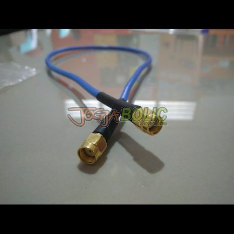 Pigtail RPSMA to RPSMA Blue OEM 02