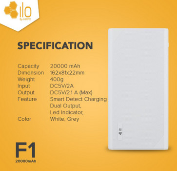 Hippo Power Bank ILO F1 10000 mAh 03
