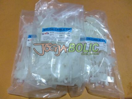 Cable Ties Label 2,5 x 100mm White (isi 100pcs) 02