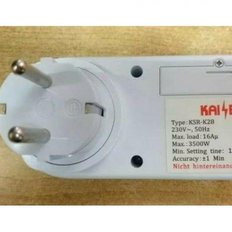 Kaiser Timer Digital Stop Kontak Listrik 03