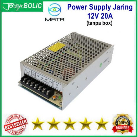 MATA Power Supply Jaring 12V 20A a
