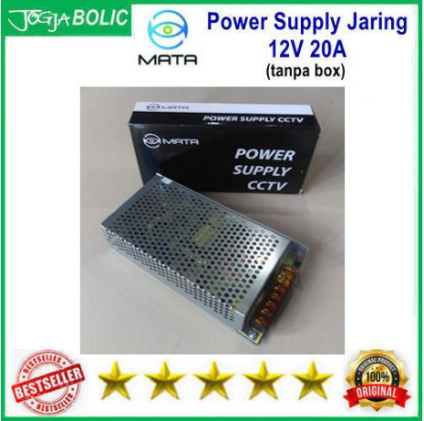 MATA Power Supply Jaring 12V 20A c