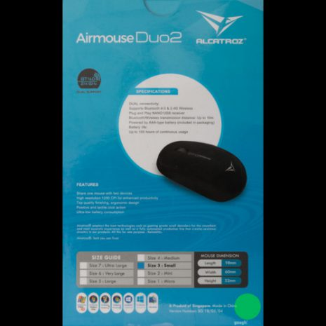 Alcatroz AirMouse Duo 2 Black 03