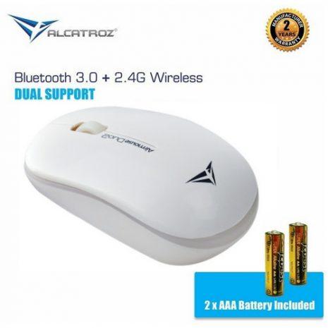 Alcatroz AirMouse Duo 2 White 001