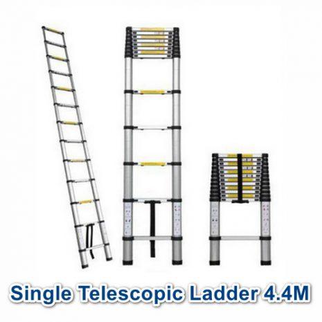 NP Tangga Lipat Alumunium Single Telescopic 4.4m 01