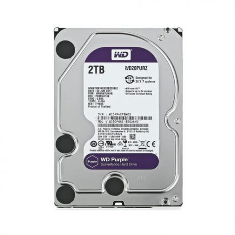 WD Purple 2TB HDD 3.5 Inch SATA 01