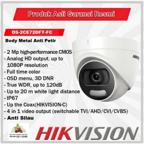 HikVision DS-2CE72DFT-FC 01
