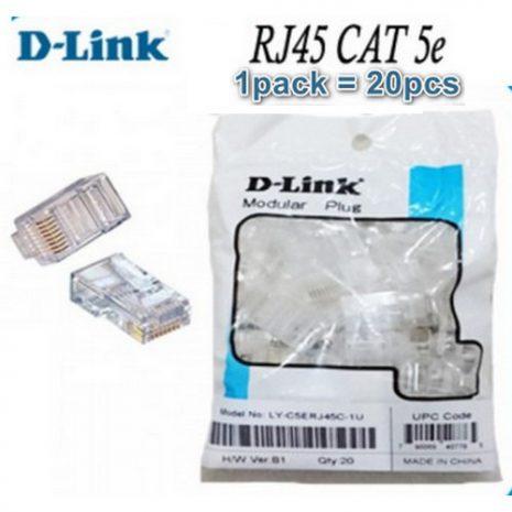 Konektor Cat5e D-Link pack