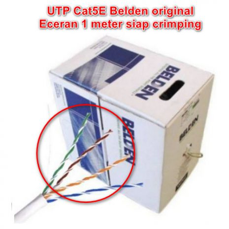 UTP Cat5E Belden meteran