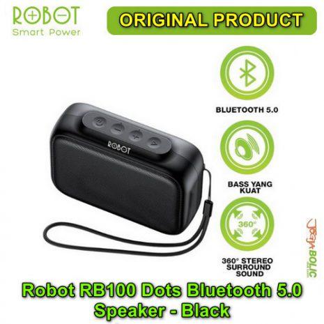 Robot RB100 Dots Bluetooth 5.0 Speaker – Black 01