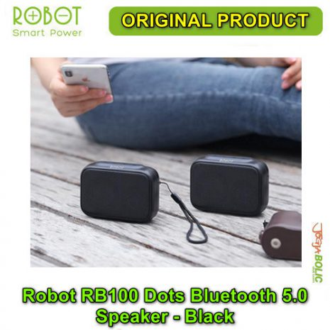 Robot RB100 Dots Bluetooth 5.0 Speaker – Black 02