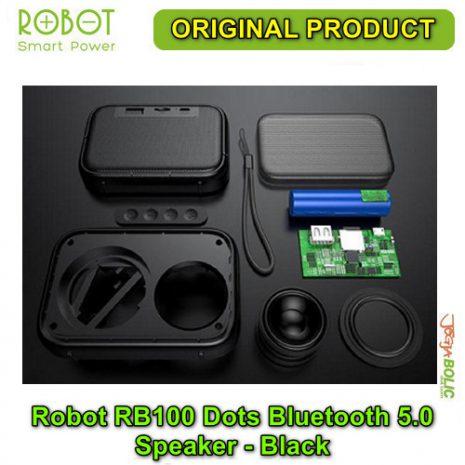 Robot RB100 Dots Bluetooth 5.0 Speaker – Black 03