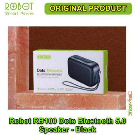 Robot RB100 Dots Bluetooth 5.0 Speaker – Black 04