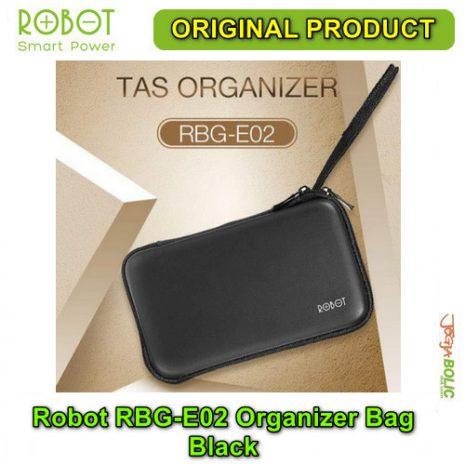 Robot RBG-E02 Organizer Bag – Black 01