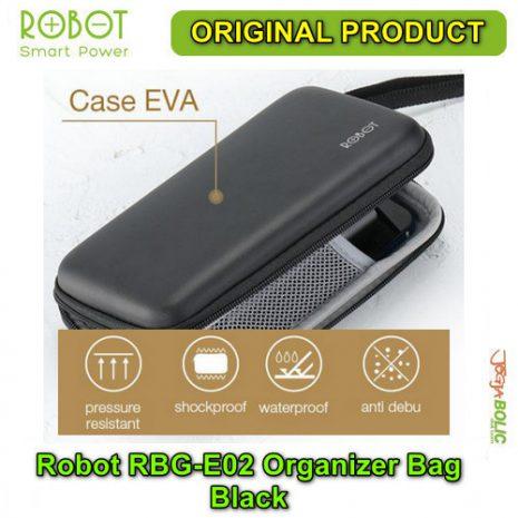 Robot RBG-E02 Organizer Bag – Black 02