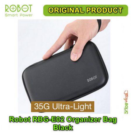 Robot RBG-E02 Organizer Bag – Black 04