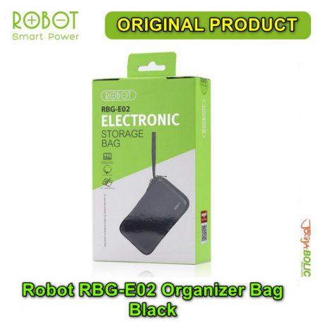 Robot RBG-E02 Organizer Bag – Black 05