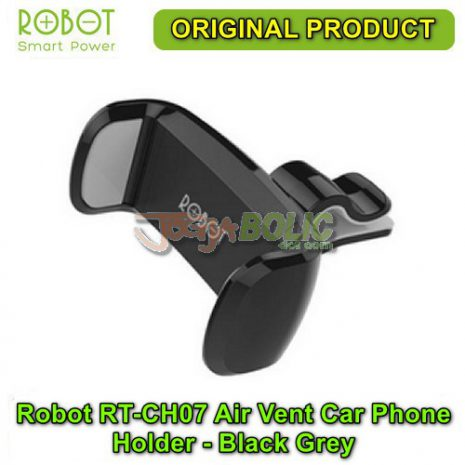 Robot RT-CH07 Air Vent Car Phone Holder Stent – Black Grey 01
