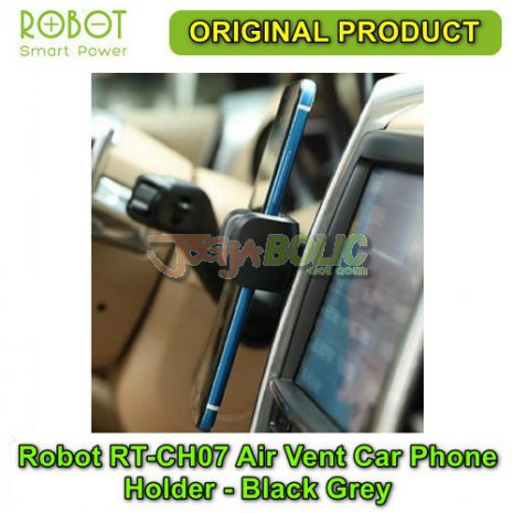 Robot RT-CH07 Air Vent Car Phone Holder Stent – Black Grey 04