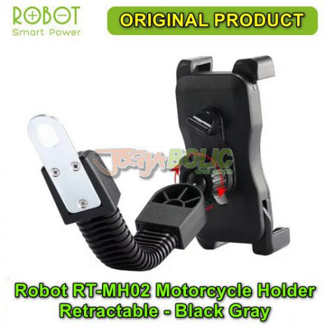 Robot RT-MH02 Motorcycle Holder Retractable – Black Gray 03
