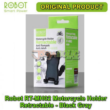 Robot RT-MH02 Motorcycle Holder Retractable – Black Gray 05