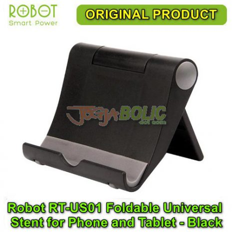 Robot RT-US01 Foldable Universal Stent for Phone and Tablet – Black 02