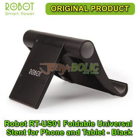 Robot RT-US01 Foldable Universal Stent for Phone and Tablet – Black 03