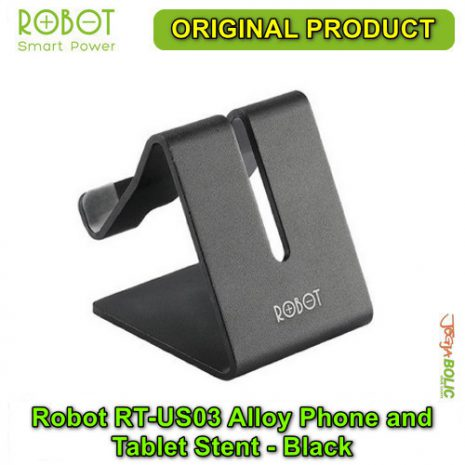 Robot RT-US03 Alloy Phone and Tablet Stent – Black 02